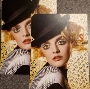 NEW MAC Cosmetics LE MUSE Collectible Postcard!